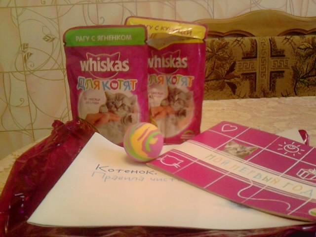 Whiskas для котят