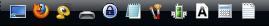 Панель быстрого запуска Windows